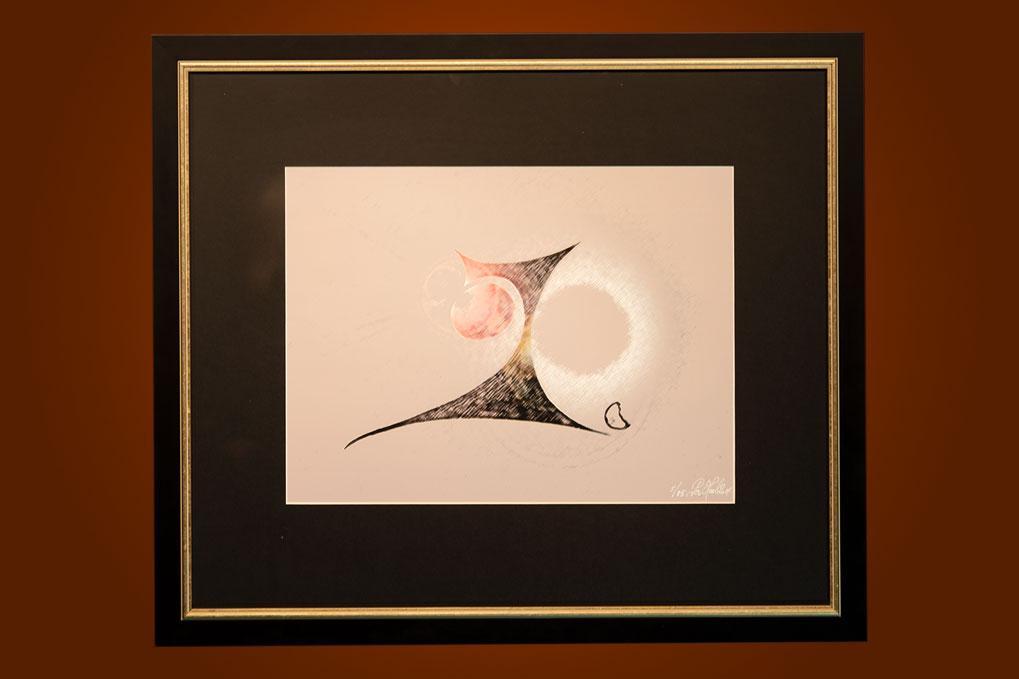 A spark in the eye II 67 x 58 cm
